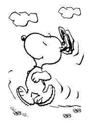 Running Snoopy